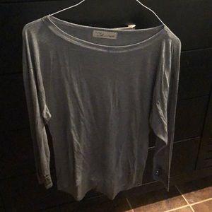 Gray long sleeve shirt vintage Havana